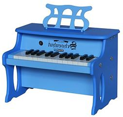 Schoenhut 25 Key 2 Toned Table Top Piano, Blue, One Size