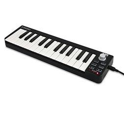 Pyle USB MIDI Keyboard Controller - 25 Key Portable Audio Re