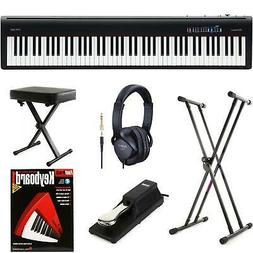 Roland FP-30 Essential Keyboard Bundle - Black