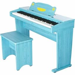 Artesia Fun-1 61-Key Children's Digital Piano Bundle Pink