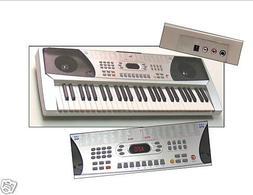 54 Keys Keyboard Student Electronic Digital Piano - Silver -
