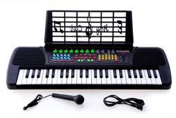 49 Keys Kids Keyboard Beginners Electronic Digital Piano wit