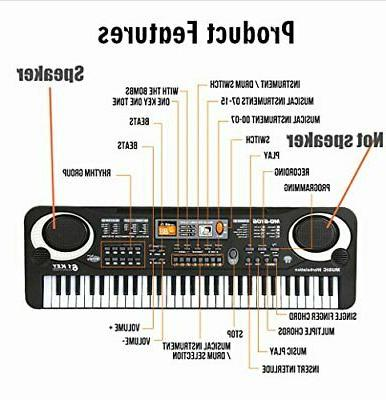61 Key For Organ,Music Electronic