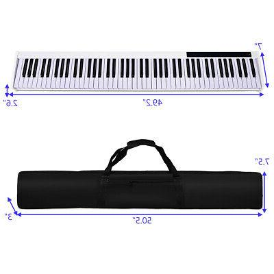 88 Piano Kids Play Gift MIDI Keyboard Weighted Key w/Pedal