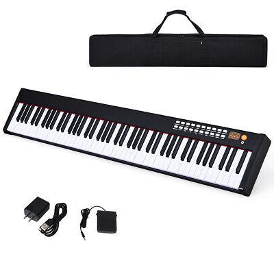 bxii 88 key digital piano mini keyboard