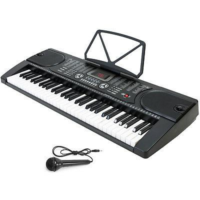 Digital Piano Keyboard 61 Key Portable Instrument with