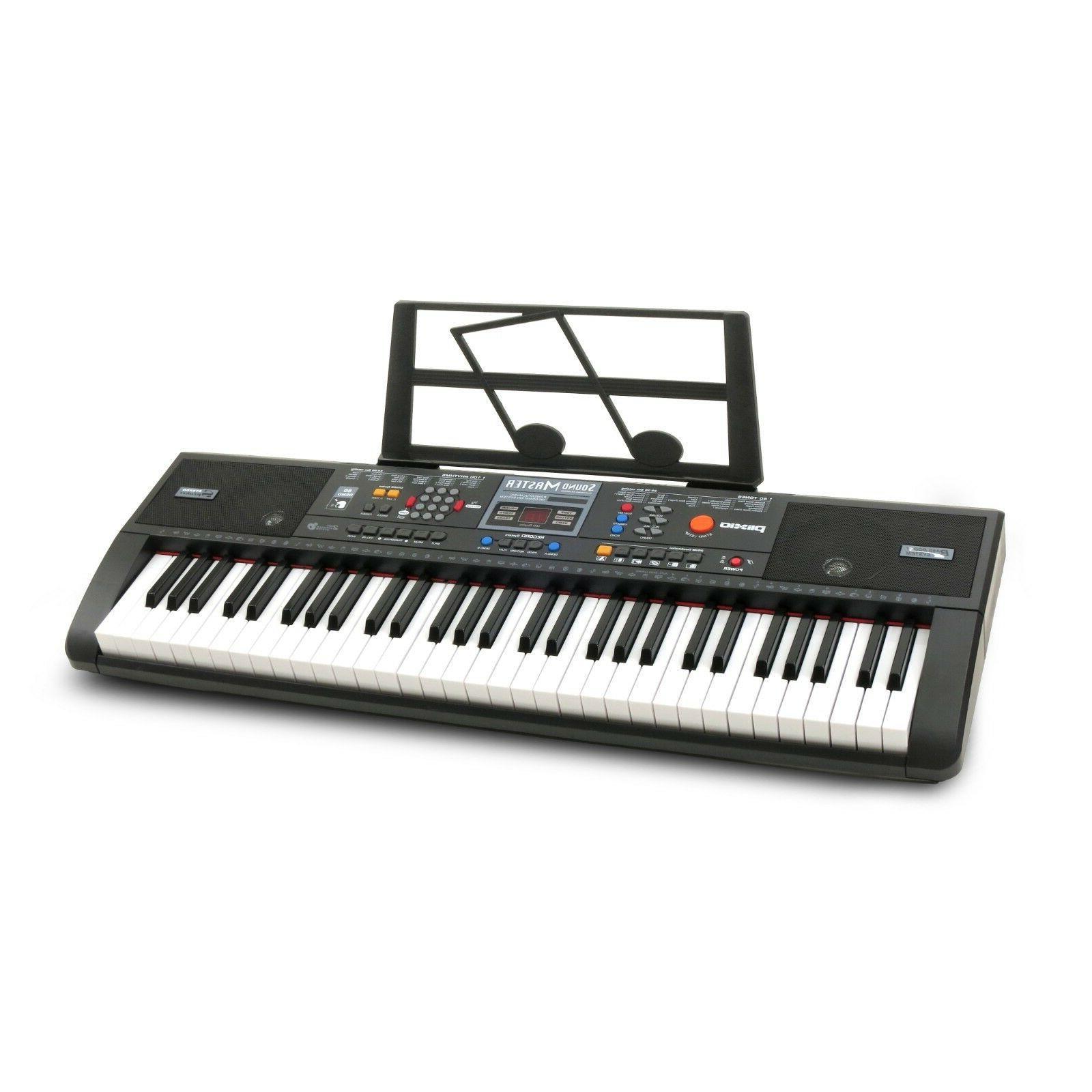 electronic music keyboard electric piano