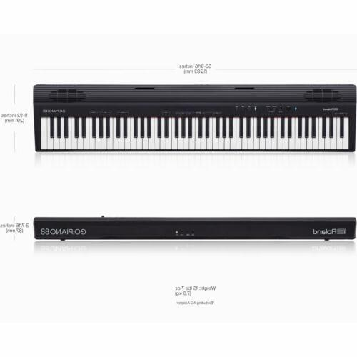 Roland GO:PIANO 88-Key Digital Piano with Stand