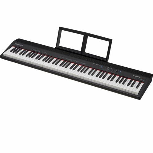Roland GO:PIANO Piano with Row Stand Bench