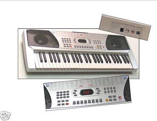 keyboard student electronic piano guitar