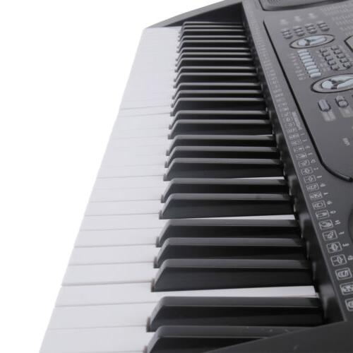 61 Music Keyboard Electric Piano Organ with Stand