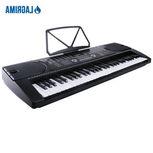61 Key Music Keyboard Electric Organ Stand