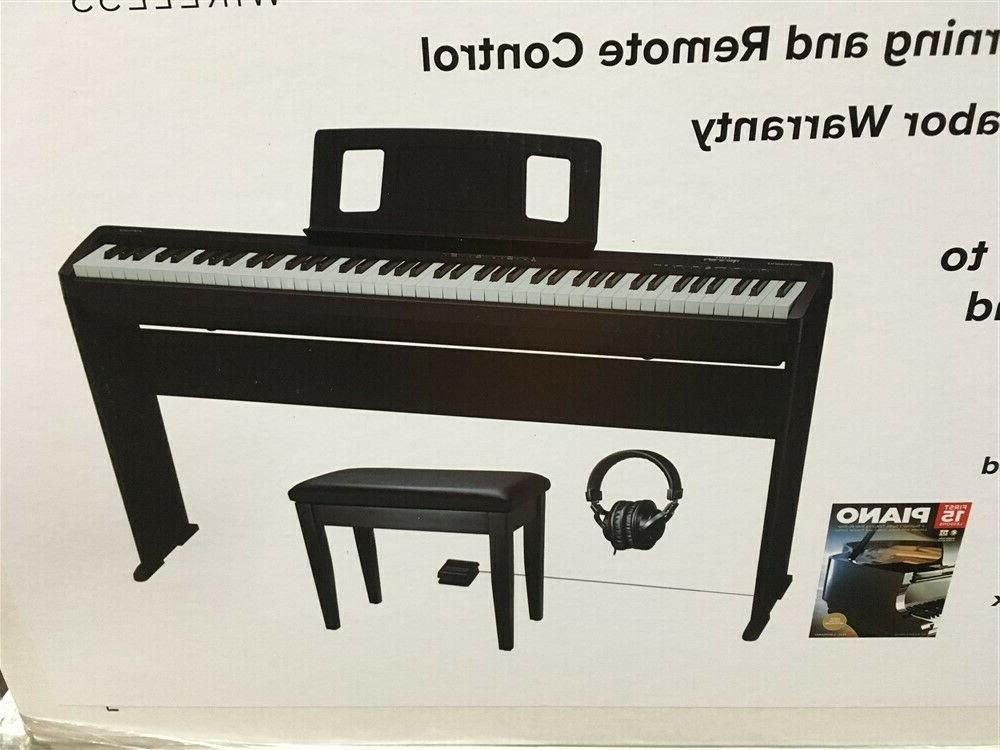 new frp 1 digital piano bundle