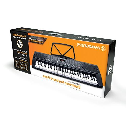 Hamzer Portable Electronic Keyboard Piano Stool,