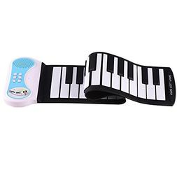 Lightahead Portable 37-Keys Mini Roll up Soft Silicone Flexi