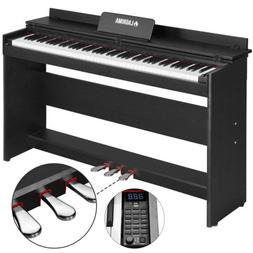 music 88 key electric digital lcd piano