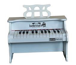 Schoenhut 25 Key Digital Table Top Toy Piano, White, One Siz